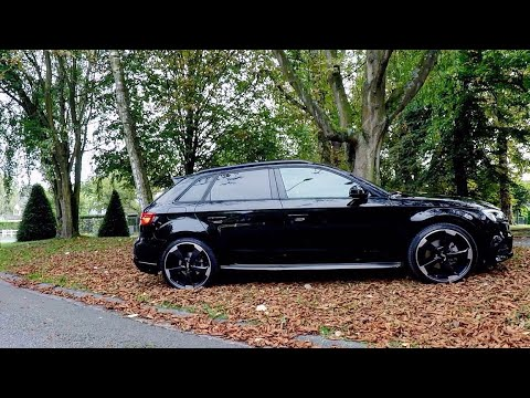2017 facelift audi a3 s line 150 tdi full black youtube. Black Bedroom Furniture Sets. Home Design Ideas