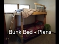 How to Build a Bunk Bed - Plans and Cost
