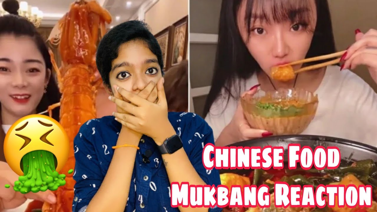 Download Chinese Food Mukbang Reaction in Tamil 🤮🤢 | #miss_miracle
