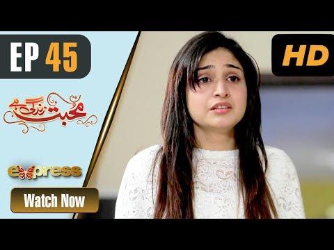 Mohabbat Zindagi Hai - Episode 45 - Express Entertainment Dramas