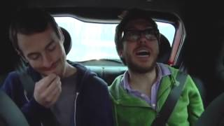 Jake and amir driving home