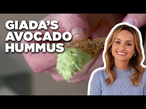How to Make Giada's Avocado Hummus | Food Network