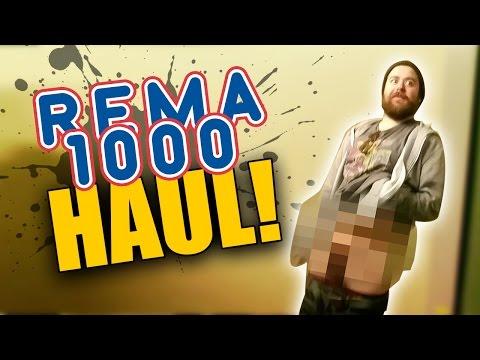 REMA 1000 SHOPPING HAUL! | Norsk Vlog