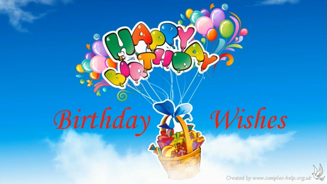 Birthday wishes sample youtube birthday wishes sample m4hsunfo