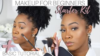 Beginner Makeup Starter Kit (MAKEUP + BRUSHES) | MAKEUP FOR BEGINNERS | Maya Galore