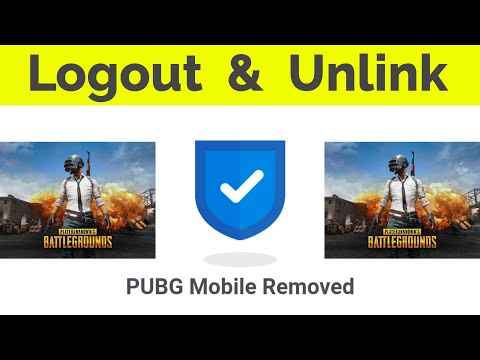 How To Logout PUBG Mobile Game Account & Unlink/Delete Your Facebook Id From Pubg-2020