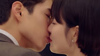 ENG SUB Park Bo Gum Song Hye Kyo Romantic Back Hug and Kiss Encounter