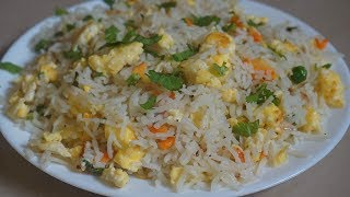 Instant Rice Recipes For Lunch Box | 3 Minute Rice recipes | lunch box recipe - Egg Fried Rice