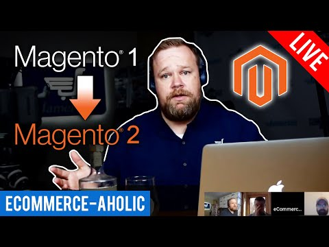 Upgrading from Magento 1 to Magento 2 with Aaron Sheehan and Gentian Shero.