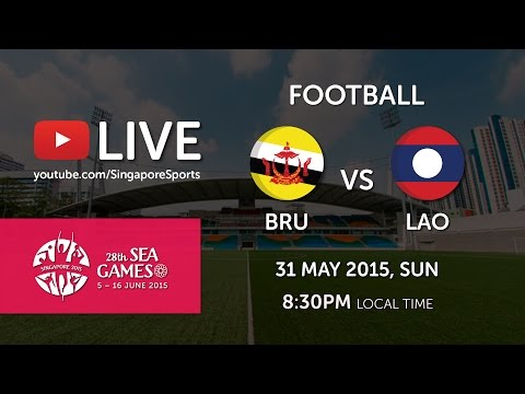 Football: Brunei vs Laos | 28th SEA Games Singapore 2015