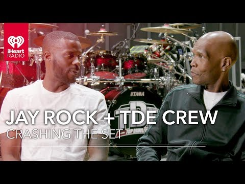 Jay Rock + TDE Crew Talk About The Championship Tour With Big Boy | Crashing The Set