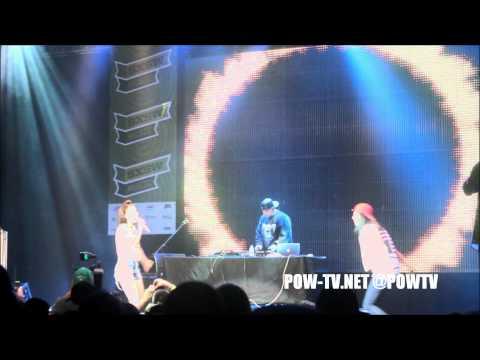 Kreayshawn & V-Nasty Perform Breakfast At Perez Hilton's VH1