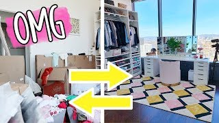 HUGE CLOSET TRANSFORMATION!!