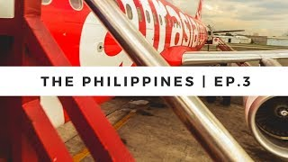FLIGHT FROM PUERTO PRINCESA FROM MANILA | The Philippines Vlogs | Ep.3