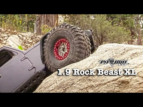 Pit Bull RC - 1.9 Rock Beast XL Tires - Carnage Canyon Trail