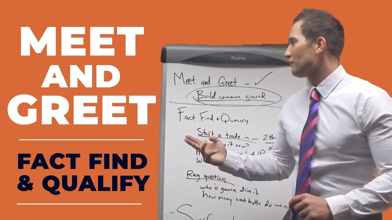 sales meet and greet