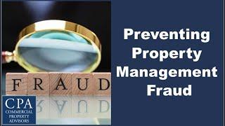 Preventing Property Management Fraud