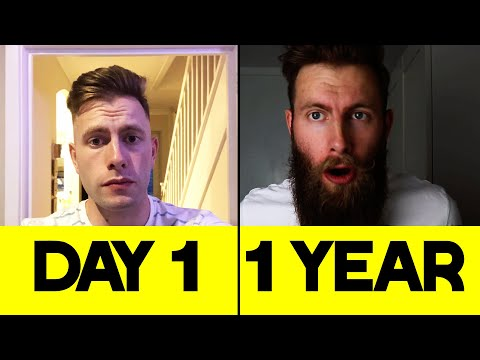 I GREW THIS BEARD IN A YEAR! Beard Growth 1 Year Timelapse