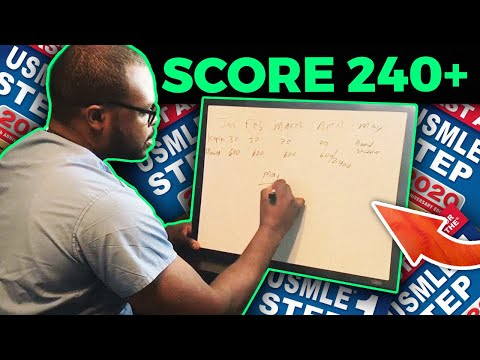 How to Score 250+ on USMLE STEP 1!