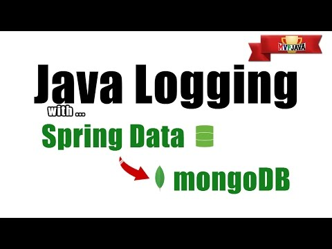 Java Logging with Spring Data and MongoDB