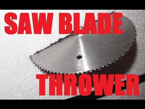 Homemade weapon the saw blade slinger the disaster bat youtube greentooth Choice Image