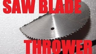 Homemade Weapon: The Saw Blade Slinger (the Disaster Bat)