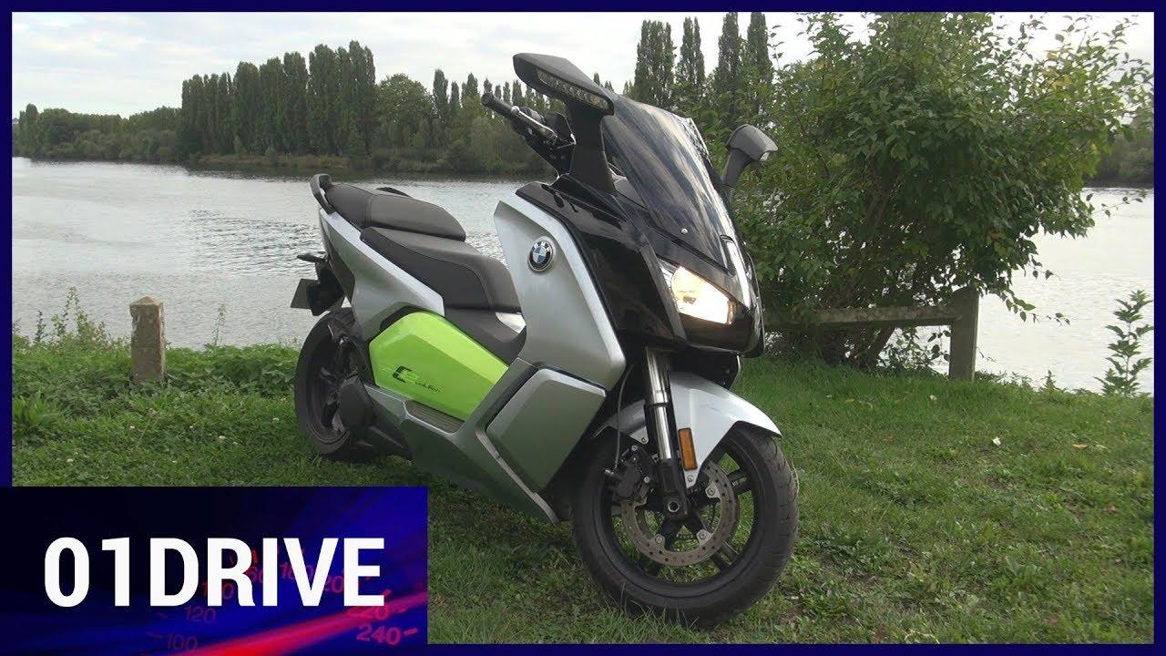 essai bmw c evolution un scooter lectrique de furieux youtube