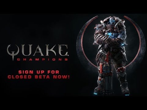 Quake Champions: Closed Beta Announcement Trailer