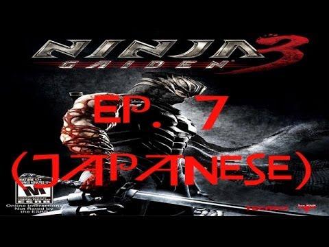 Ninja Gaiden 3 Ep. 7 Chapter 7 - The Black Narwhal, Pacific Ocean (Jap. Ver)