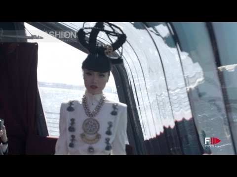 SONIA HEILBRON JEWELRY and Yumi Katsura Couture J Spring Fashion Show 2015 by Fashion Channel