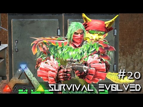 ARK: SCORCHED EARTH - MASTERCRAFT ARMOR & KIBBLE FARM !!! E2