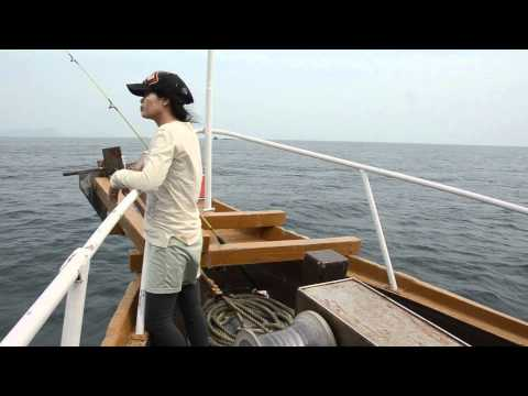 Sea Fishing in The Gulf of Thailand.mpg