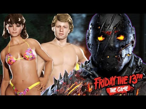 NEW SPRING BREAK SURVIVORS ARE HUNTED BY JASON! | Friday The 13th The Game (SPRING BREAK 1984 DLC)