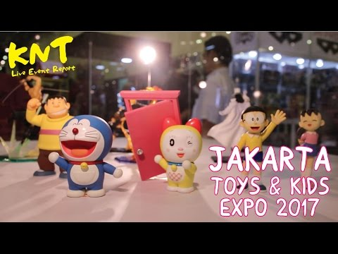 KNT Live Event Report @ Jakarta Toys & Kids Expo 2017