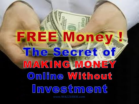 The secret of making money online without Investment | Free Shares ! Real Company Shares