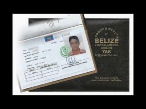 BELIZE CDC COC SEAMAN DISCHARGE BOOK IN SRILANKA
