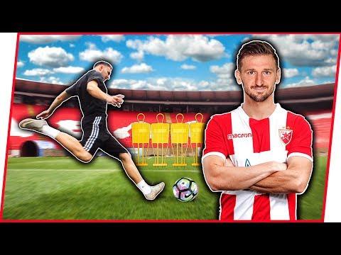 SLOBODNI UDARCI w/ Marko Marin (FK Crvena Zvezda)