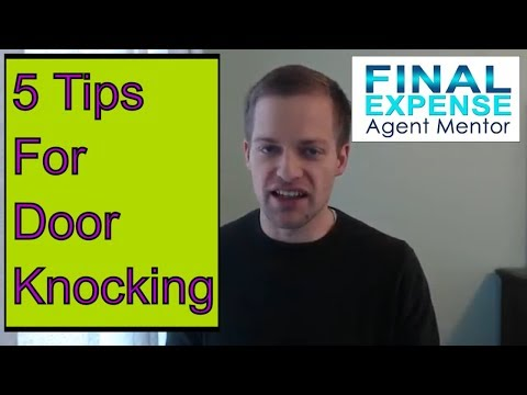 5 Insurance Sales Door Knocking Tips That Work!