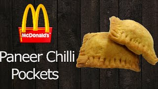 Make Paneer Chili Pockets like Mc'Donalds !! ( Menu introduced after Kungfu Panda 2 release )