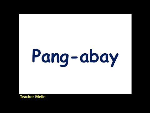 FILIPINO- PANG-ABAY (Panlunan, Pamanahon, Pamaraan)