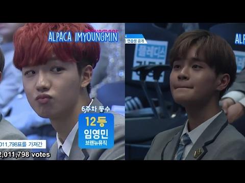 [ENG] Produce 101 Season 2 EP 8 | Youngmin (Rank 5) & Daehwi (Rank 4) cut