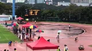 葵青區學界田徑比賽 女丙4x100米決賽