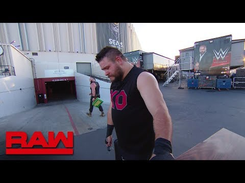 Braun Strowman destroys Kevin Owens' car: Raw, June 25, 2018