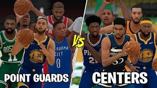 Best Point Guards In NBA VS Best Centers In The NBA NBA 2K19