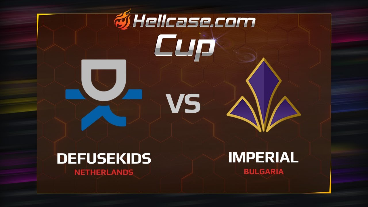 [EN] Defusekids vs Imperial, map 2 mirage, Hellcase Cup Season 5