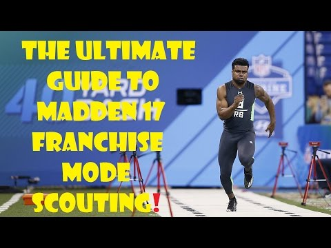 How to Scout Best Players in Madden 17 Connected Franchise. Very Detailed!