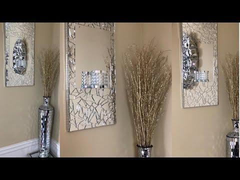 dollar-tree-diy-||-mirrored-wall-sconce-||-glam-edition