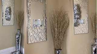 Dollar Tree DIY || 💕 Mirrored Wall Sconce || Glam Edition 💕