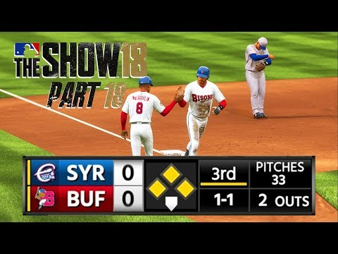 MLB 18 Road to the Show - Part 18 - I HIT A GRAND SLAM!!