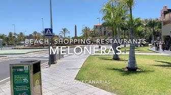 Gran Canaria, Best of Meloneras, Maspalomas, Walk Through the Beach and beautiful Shopping Centers